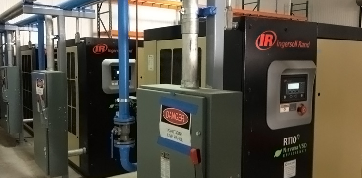 Air Compressor Engineering Installation