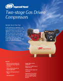 Two-stage Gas Driven  Compressors